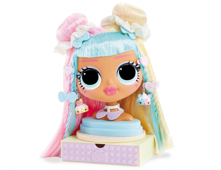 LOL Surprise OMG Styling Head Candylicious. Playset. Watch review. Price. Realice date. Where to buy?