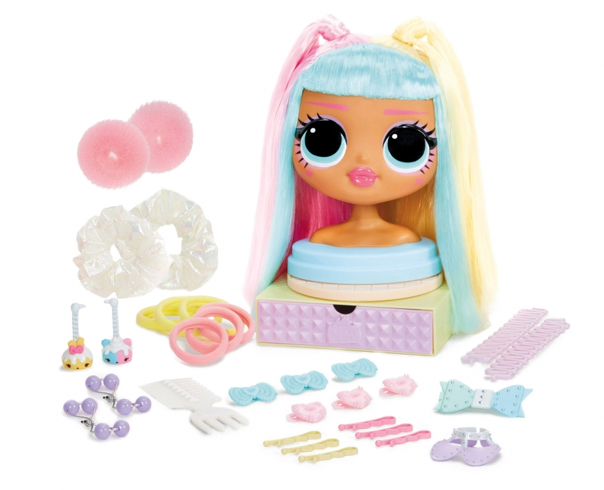 Where to buy? Price. Realise date. Video reviewLOL Surprise OMG Styling Head Candylicious. Playset. Accessories.