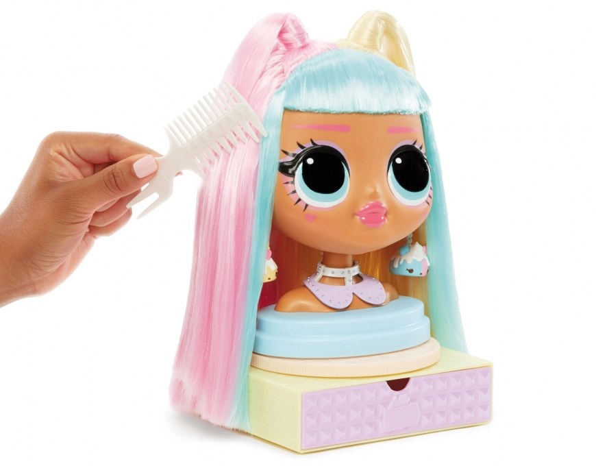 LOL Surprise OMG Styling Head Candylicious. Playset. Amazing Looks. Realise date. Price. Where to buy? Watch review