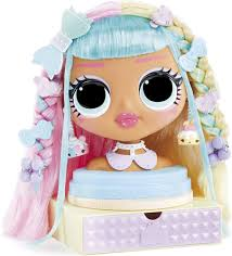 LOL Surprise OMG Styling Head Candylicious. Playset. Learn to Braid. Realise date. Where to buy. What is the price. Watch review