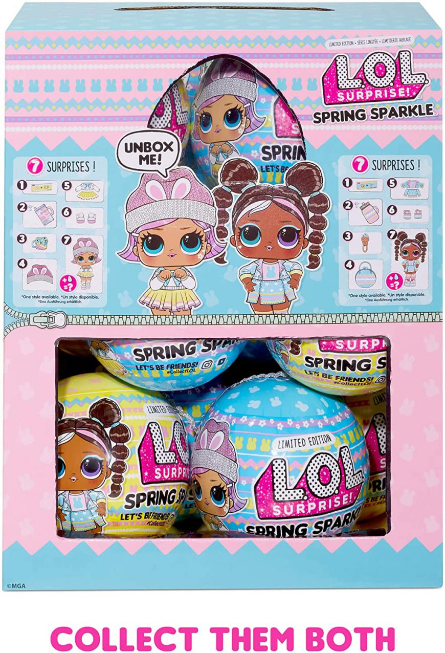 LOL Surprise Spring Sparkle - Bunny Hun and Chick-a-Dee - limited edition. Where to buy? What is the prise? Video review. Realise date