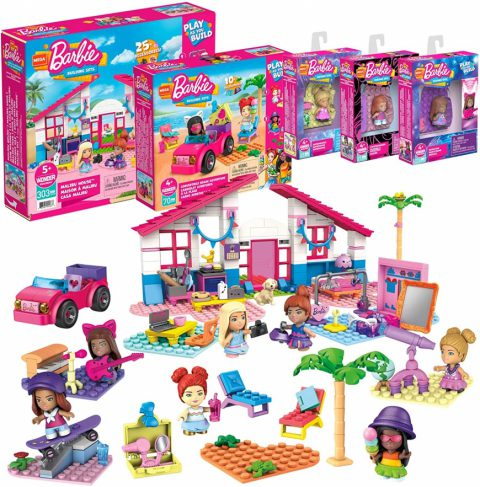 Mega Construx Barbie Exclusive Bundle - Where to buy? What is the price? Realise date