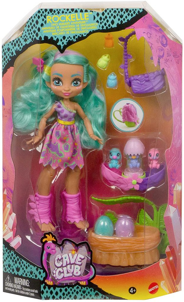 New Cave Club Rockelle Dino Nursery Adventure doll. What is the price? Where to buy? Realise date.