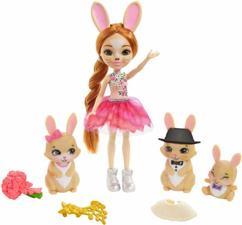 Enchantimals Royal Family Toy Set: Brystal Bunny Doll - Where to buy? What is the price? Realise date