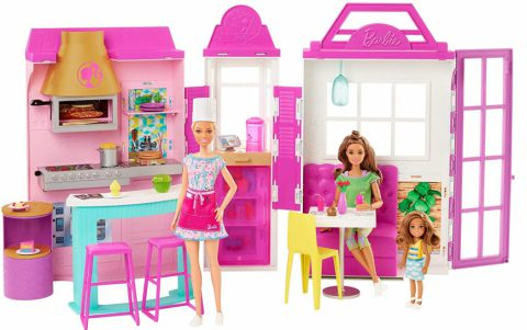 Playset Cook 'N Grill Restaurant with Barbie Doll - Where can I buy it? What is the price? Realise date