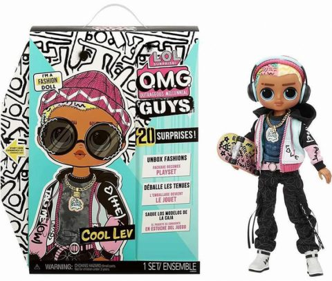 First LOL OMG Guys doll named Cool Lev - LOL OMG Boys single release - Where to buy? How much is the price? What is the realise date?