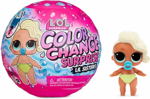 LOL Surprise Color Change Lil Sisters dolls - Where to buy? How much is the price? Realise date