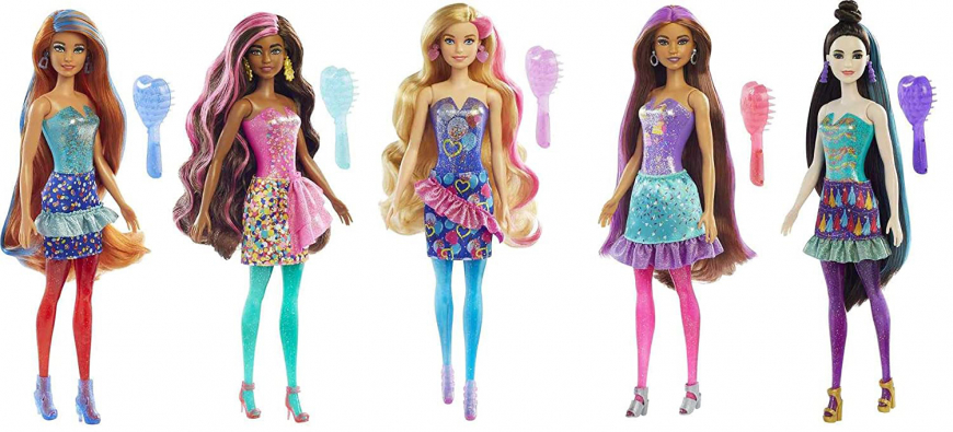 New Barbie Color Reveal Party-themed Dolls 2021 - Where to buy? What is the price? Realise date