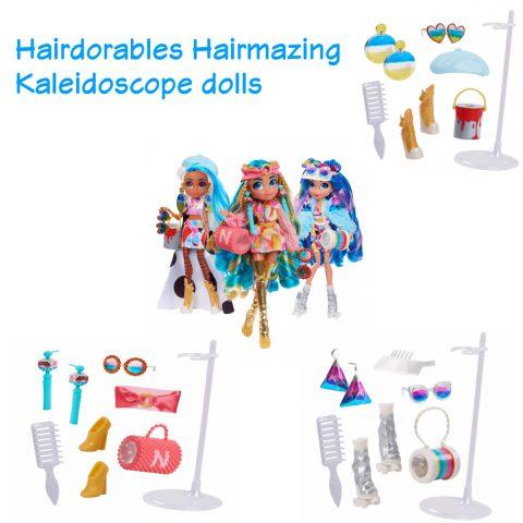 Hairmazing Kaleidoscope doll