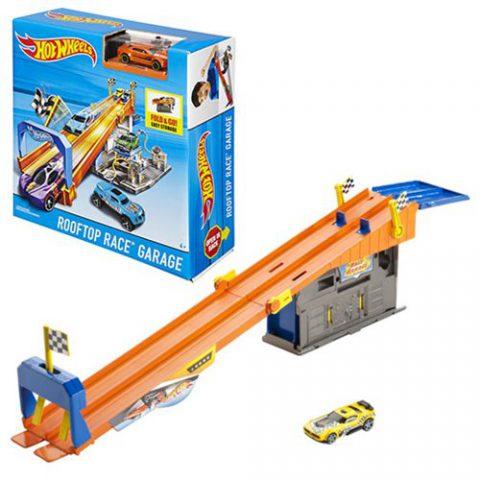 Hot Wheels Race Garage Playset