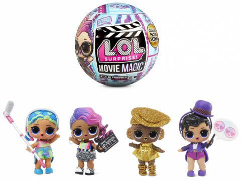 L.O.L. SURPRISE! series Movie Movie Magic Doll ball. 10 Surprises 5