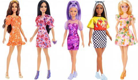 New Barbie Fashionistas. 5 new dolls!