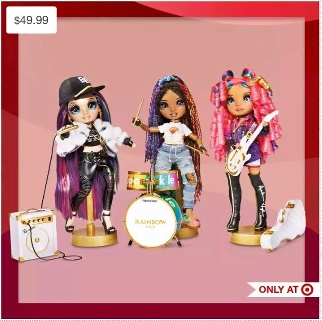 New Rainbow High RockStar doll