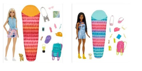 barbie Camping kit with backpack and pet