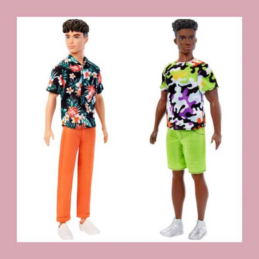 new Ken Fashionistas 2021